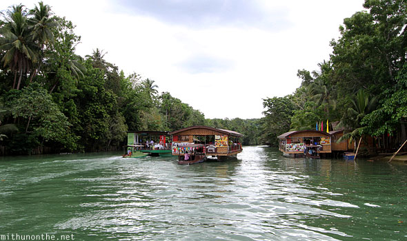 Loboc river lunch cruise Bohol Philippines
