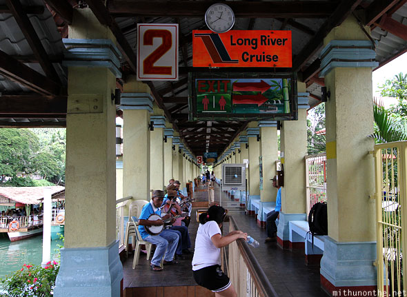 Long river cruise Loboc Bohol Philippines