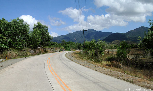 Palawan highway concreted roads Philippines