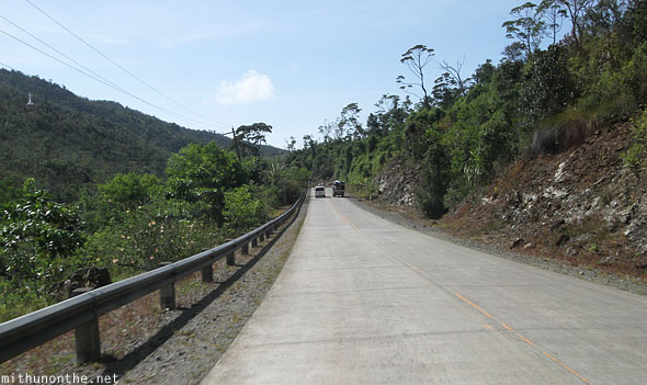 Palawan highway Philippines