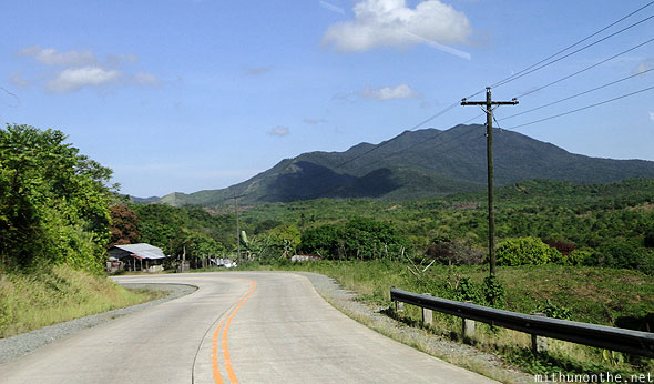 Palawan highway road bend