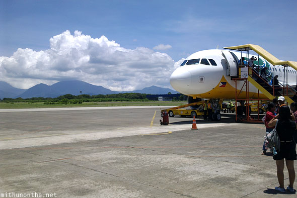 Puerto Princesa airport Cebu Pacific flight Palawan