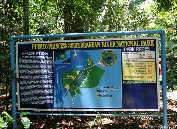 Puerto Princesa Subterranean River National Park entrance