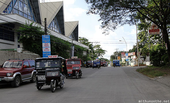 Tagbilaran tricycle taxis Bohol Philippines