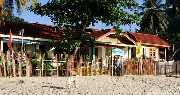 Tandikan beach cottages El Nido Palawan Philippines
