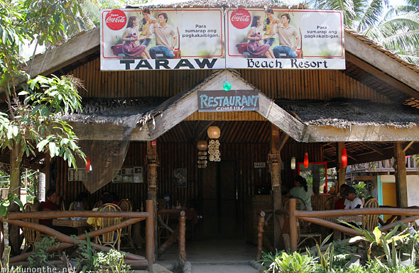 Taraw beach resort Sabang beach Palawan Puerto Princesa
