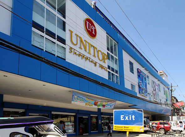 Unitop shopping mall Puerto Princesa Palawan