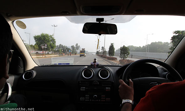 Airport road towards Devanahalli Bangalore