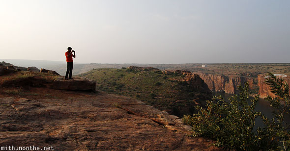 Anand Phadake Gandikota hills evening