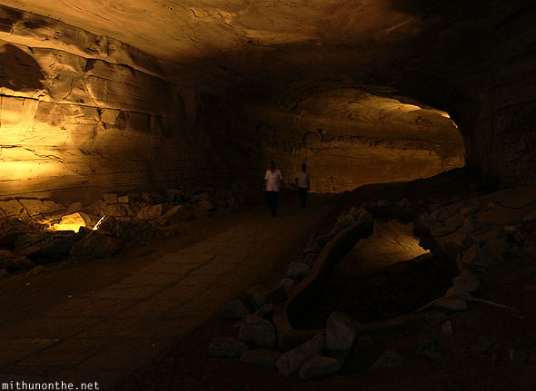 Belum caves hollow underground Andhra Pradesh India