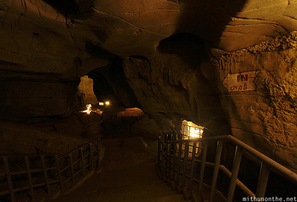 Belum caves steps inner sanctum India