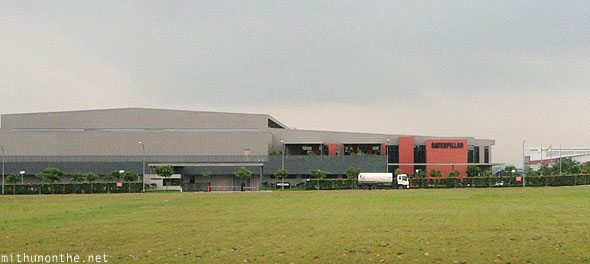 Caterpillar factory Jurong East Singapore