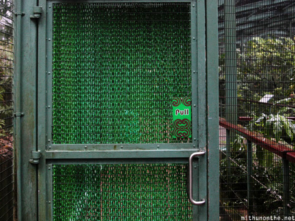 Chain door Jurong bird park Singapore