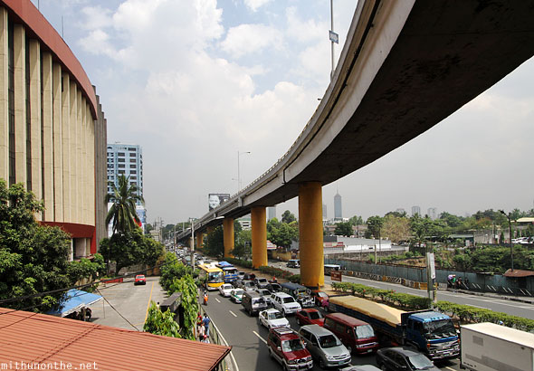 Elevated highway near overseas office Manila Philippines