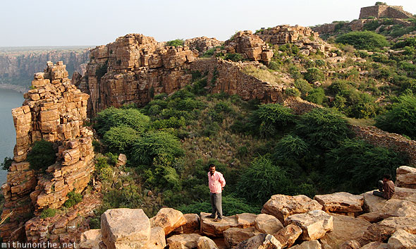Erramala hills Gandikota fort rocks India