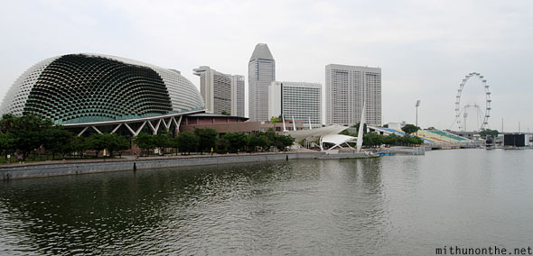 Esplanade theatres by the bay Marina flyer Singapore