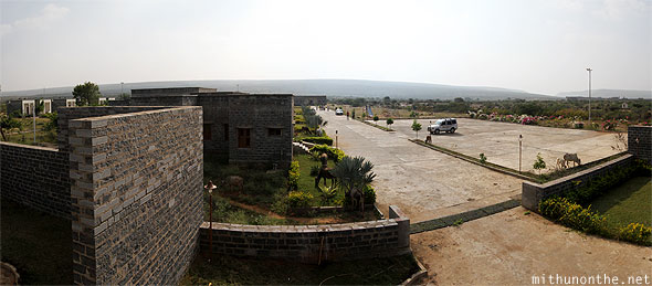 Gandikota aptdc hotel resort panorama