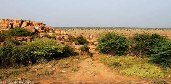 Gandikota Erramala hills towards Pennar river