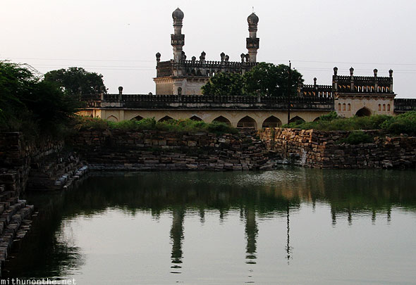 Gandikota fort masjid reflection well