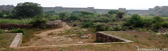Gandikota fort wall Andhra Pradesh India
