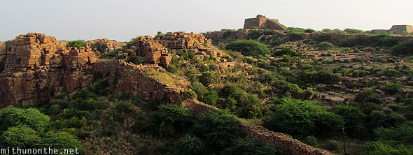 Gandikota fort wall ruins India