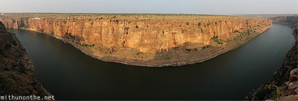 Gandikota gorge pennar river panorama