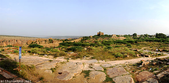 Gandikota panorama from Ranganathaswamy temple Andhra Pradesh India