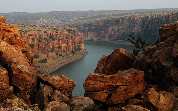 Gandikota rocks Pennar river India