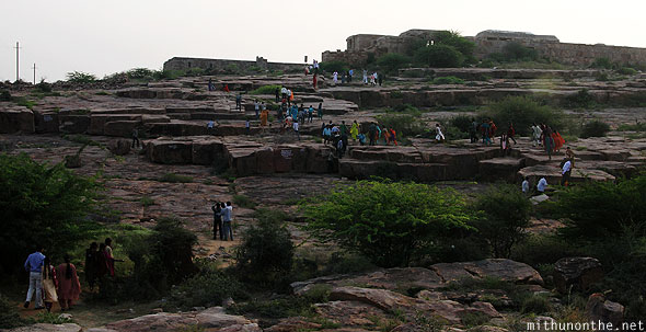 Gandikota tourists evening Andhra Pradesh
