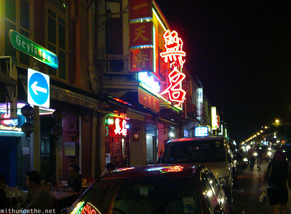 Geylang road nightlife Singapore