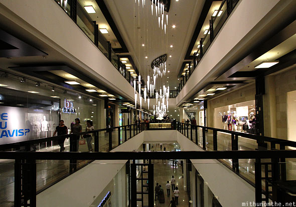 Inside Greenbelt mall Ayala center Manila Philippines