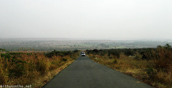 Leaving Gandikota road Andhra Pradesh India