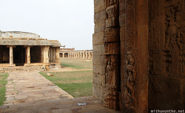 Madhavaraya temple through gate Gandikota