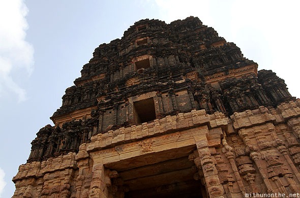 Madhavaraya temple tower architecture Gandikota India