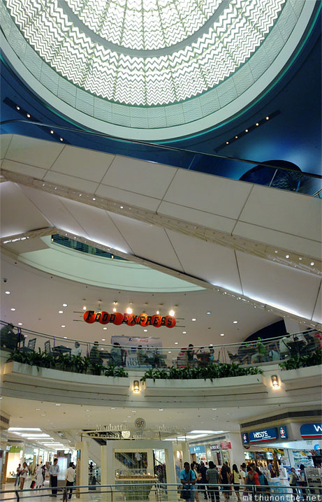 Gateway mall interiors panorama