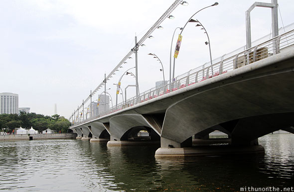 Marina river bridge F1 track Singapore
