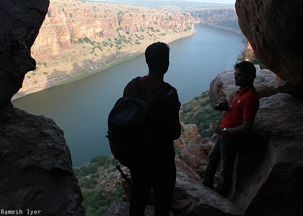 Mithun Anand through gap Gandikota