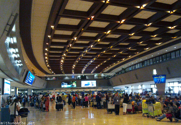 NAIA Terminal 1 International departures Manila Philippines