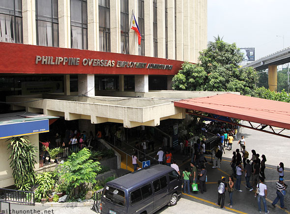 Philippine Overseas Employment Administration office Manila