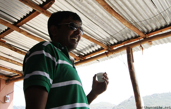 Ramesh Iyer tea Andhra Pradesh India