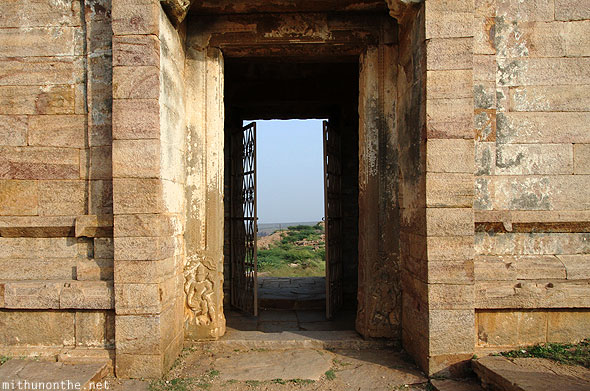 Ranganathaswami temple gates Gandikota India