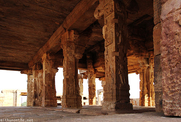 Rangaswami temple pillars Gandikota