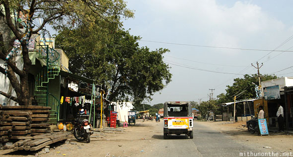 Road to Belum caves Andhra Pradesh village
