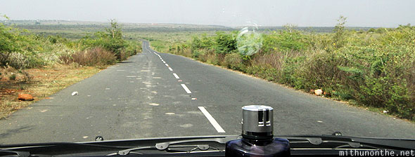 Road to Gandikota Andhra Pradesh India