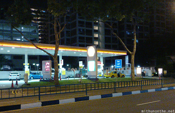 Shell fuel station Singapore
