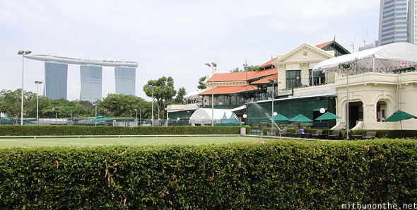 Singapore Cricket Club ground