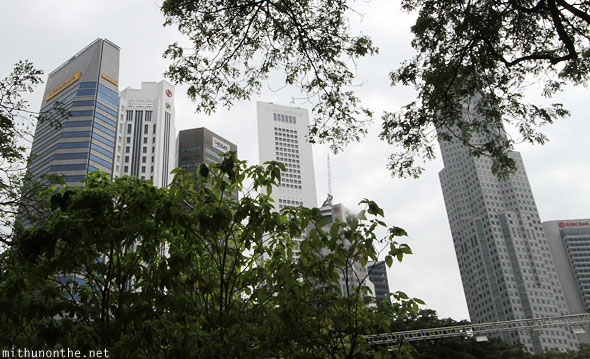 Singapore financial centre buildings skyscrapers