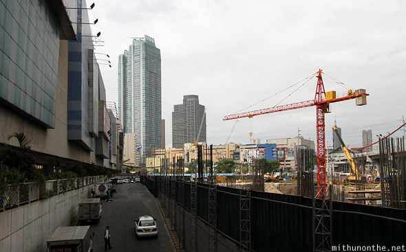 SM Megacity Ortigas construction Manila Philippines