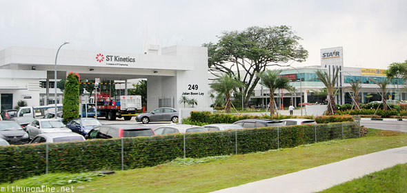 ST Kinetics office Boon Lay Singapore
