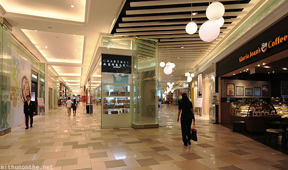 Suntec City beauty stores mall Singapore